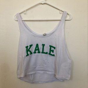 Kale crop tank